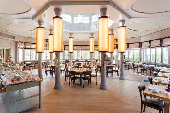 Hotel Bachmair Weissach : Frühstückspavillion