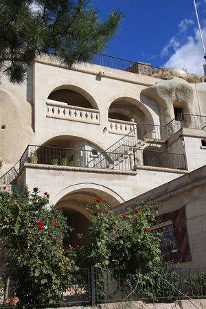 Elif Star Caves: Blick aufs Hotel