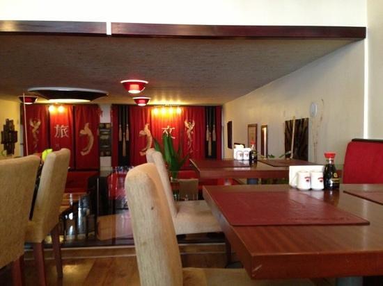 Chinese Inn Restaurant: tables