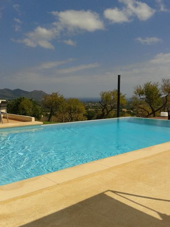 Ses Cases de Fetget: view from the pool