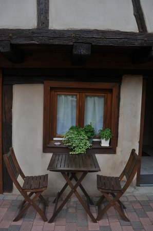 La Rose d'Alsace : View of the Hotel