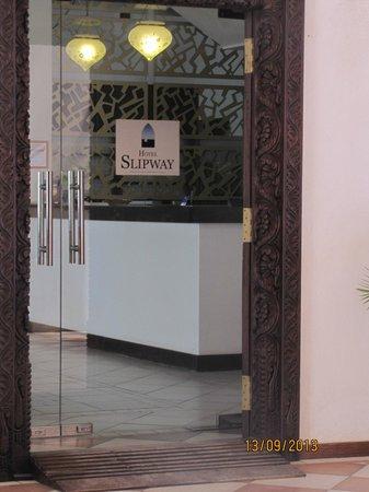 Hotel Slipway : Entrance