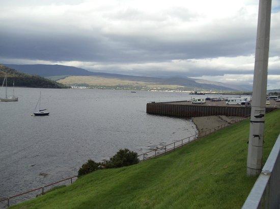 Cruachan Hotel: Loch Linnhe.