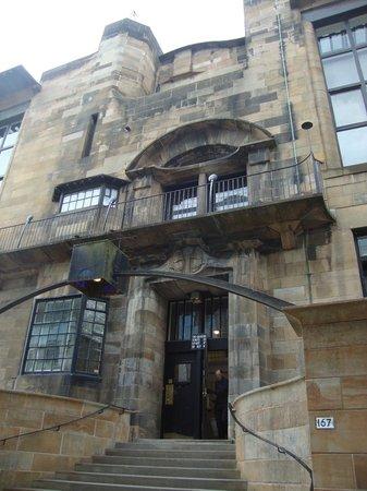 The Glasgow School of Art: Front facade