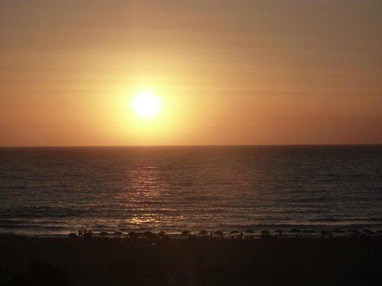 Panorama Hotel : il tramonto dalla terrazza