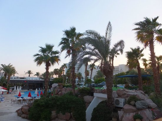 Americana Hotel: Пожалуй единственный номер без определенного вида с видом на бассейн