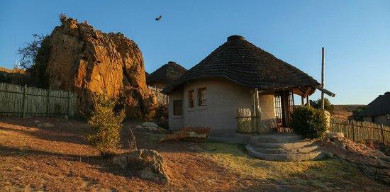 Basotho cultural village: My room