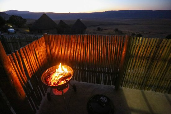 Basotho cultural village: Braai Time