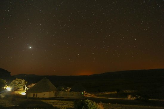 Basotho cultural village: Night View