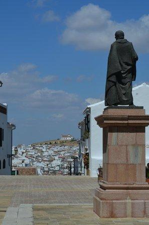 Colegiata de Santa María la Mayor: vue sur Antequera depuis la collegiale