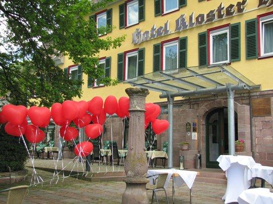 Hotel Kloster Hirsau: Eingangsbereich - Hochzeit