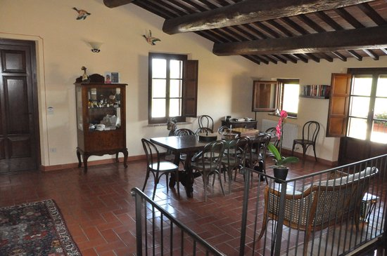 Agriturismo Tenuta il Casone: sitting room upstaris