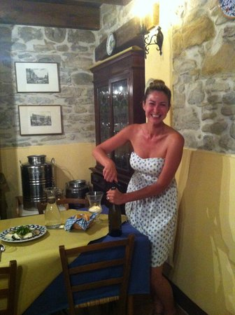 La Tavola Marche Agriturismo & Cooking School: Ashley, our hostess