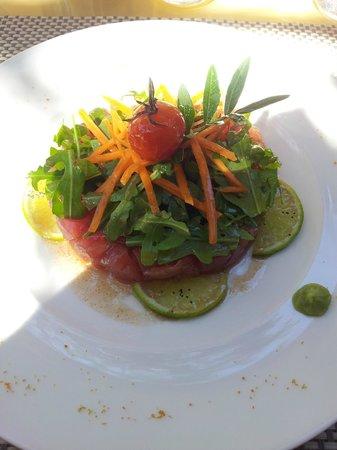 Is Arenas Resort : Tartare di tonno (sempre fresco)