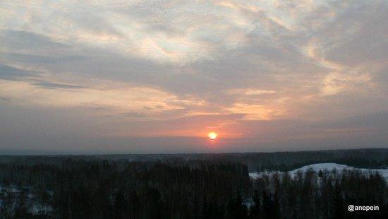 Novosibirsk Oblast, Russia: Вечерело