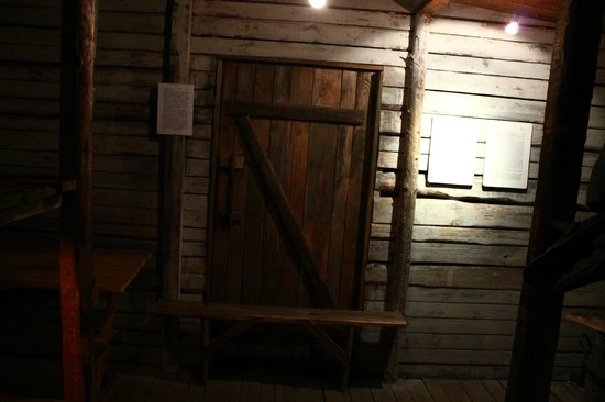 The Museum of the Occupation of Latvia: interno di gulag