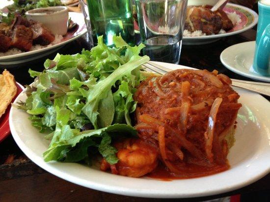Sol Food Puerto Rican Cuisine: Shrimp Mofongo