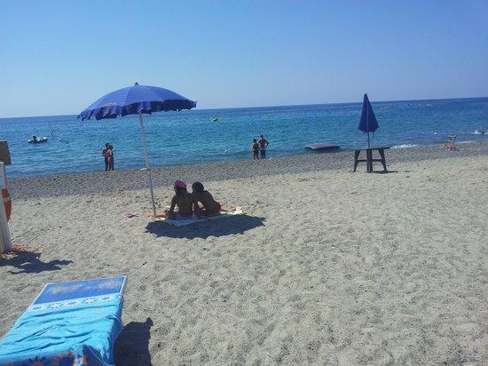 Villaggio La Perla : la fantastica spiaggia