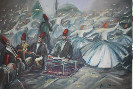 Rixos Konya: Painting in reception
