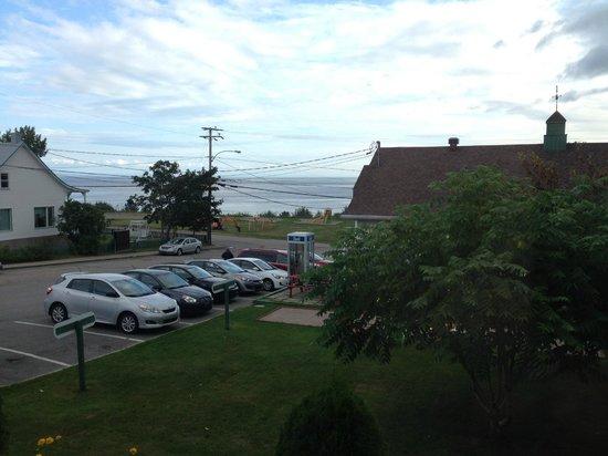 Hotel Le Pionnier : vue sur la baie de Tadoussac