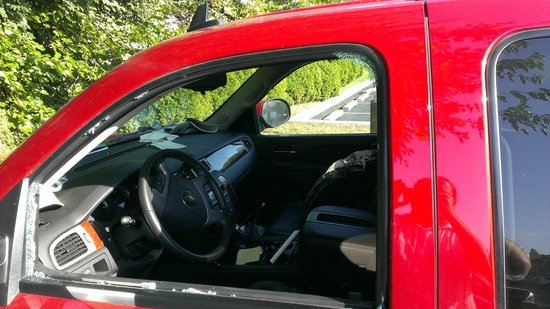 Ramada Columbus Polaris : 1st car robbed here