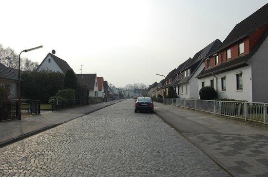 Hotel zur Riede: Улочка, на которой находится отель