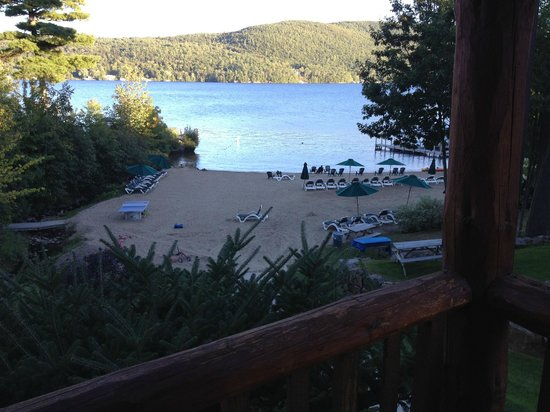 The Lodges at Cresthaven: View from our cabin