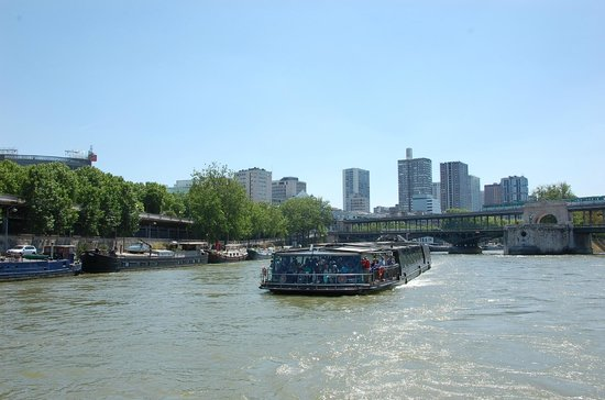 Paris 'Musts' - City Tour, River Seine Cruise and Lunch : Cruising the River Seine in Paris
