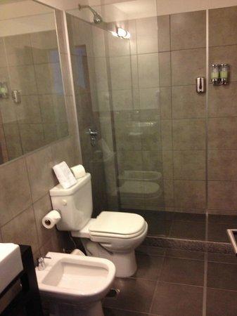 Posada Las Terrazas : Huge and nice new bathroom