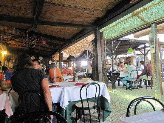 Antica Trattoria La Fossetta: sala pranzo