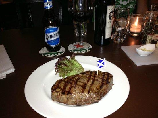 Steakhouse The Golden Bull: 500g Black Angus