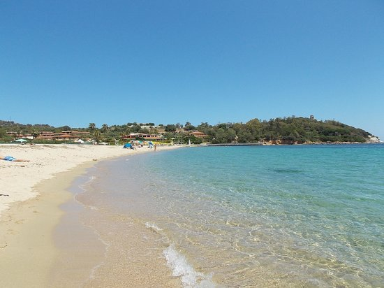 Hotel Club Saraceno : vista spiaggia