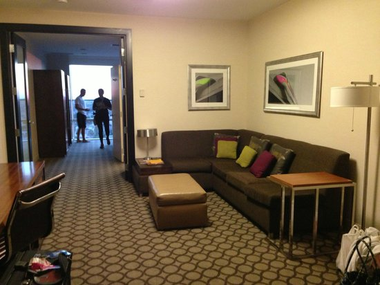 Vip family suite living room picture of hyatt regency - Hyatt regency orange county garden grove ca ...