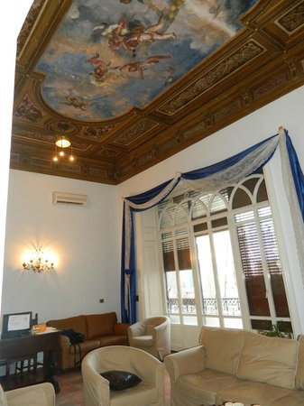 B&B Antica Dimora Caruso: Salone reception