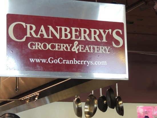 Cranberry's Grocery & Eatery: The counter