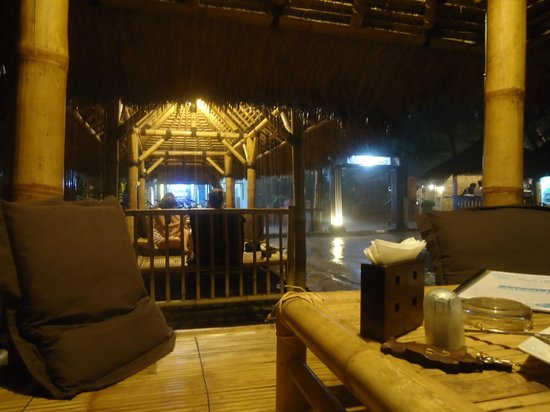 Blue Beach Cottages: Hermosa lluvia! chill out