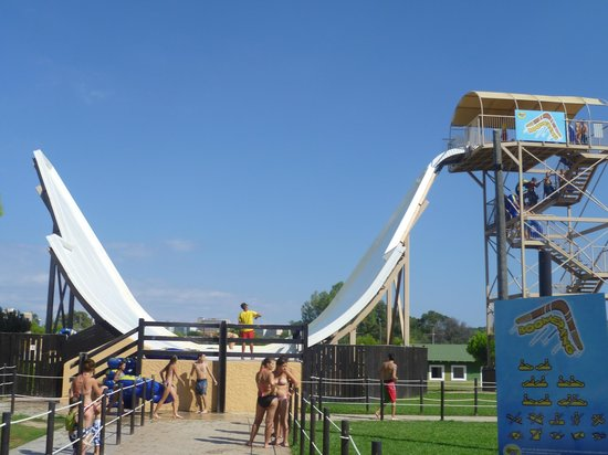 Boomerang, great ride - Picture of Western Water Park ...