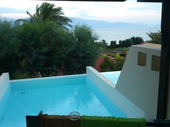 Ionian Blue Bungalows & Spa Resort: η θέα απο την σουϊτα !