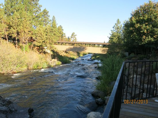 Riverhouse on the Deschutes : View from the deck of the dining area