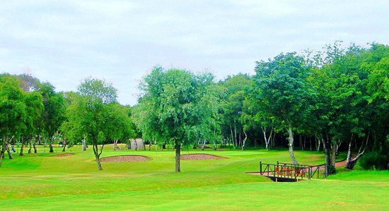 Southport Old Links Golf Club: 2nd Hole from 2011 - Probably our Signature Hole