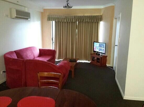 Alderney on Hay: lounge area