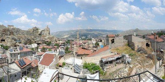 Hotel Elvan: Terasdan Ürgüp Manzarası