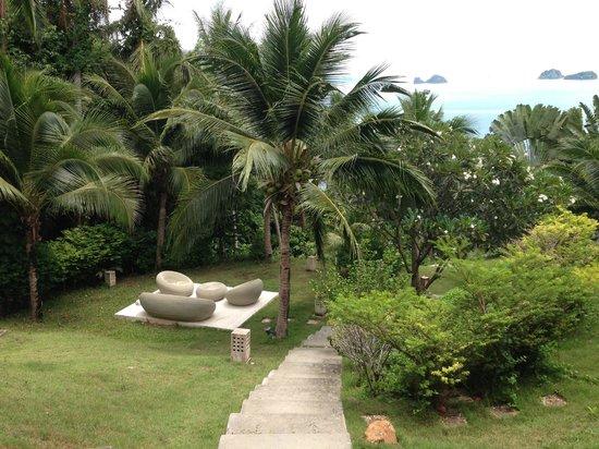 Villa Beige: Garden
