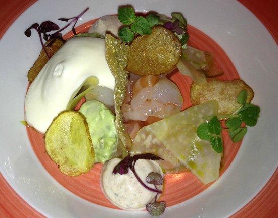 Second course around iceland menu billede af for Fish company reykjavik