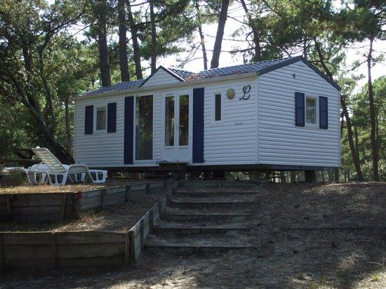 Camping de la Cote d'Argent: Eurocamp accommodation