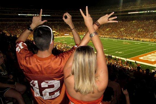 Darrell K Royal-Texas Memorial Stadium: Love
