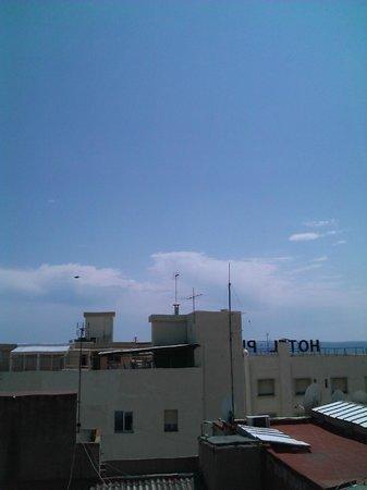 Hotel Evenia President: виды с крыши