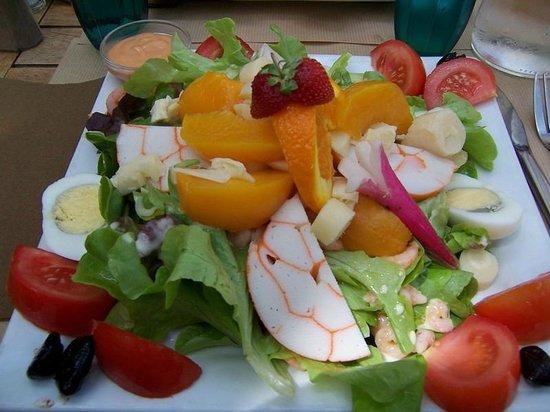 Le Bananier : salade sucré salé