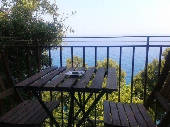Hostel Katerina: balcony