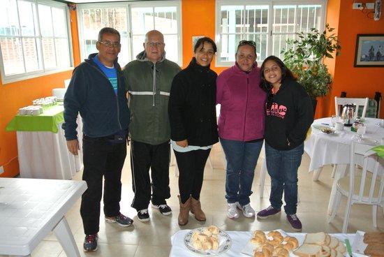 Iguassu Flower Garden: Con sus dueños